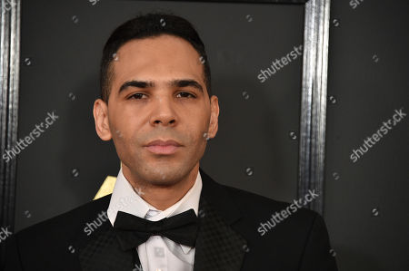 Stock Photo of Al Walser arrives at the 59th annual Grammy Awards at the Staples Center, in Los Angeles