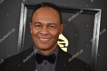 Ray Parker Jr. arrives at the 59th annual Grammy Awards at the Staples Center, in Los Angeles