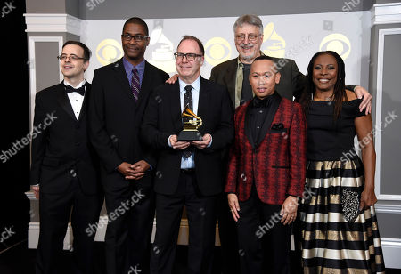 Editorial photo of The 59th Annual Grammy Awards - Press Room, Los Angeles, USA - 12 Feb 2017