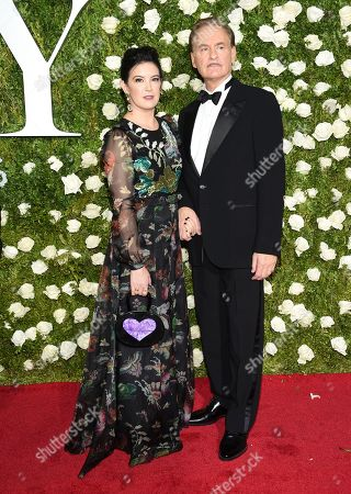 Stock Photo of Phoebe Cates, left, and Kevin Kline arrive at the 71st annual Tony Awards at Radio City Music Hall, in New York