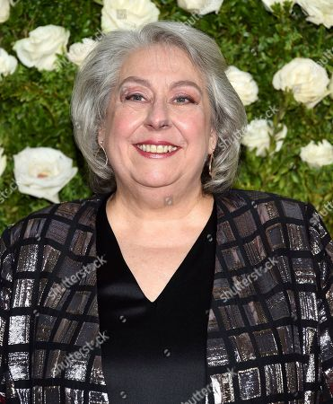 Jayne Houdyshell arrives at the 71st annual Tony Awards at Radio City Music Hall, in New York