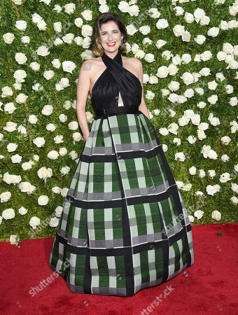 Paloma Young arrives at the 71st annual Tony Awards at Radio City Music Hall, in New York