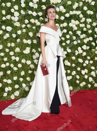 Jenn Colella arrives at the 71st annual Tony Awards at Radio City Music Hall, in New York
