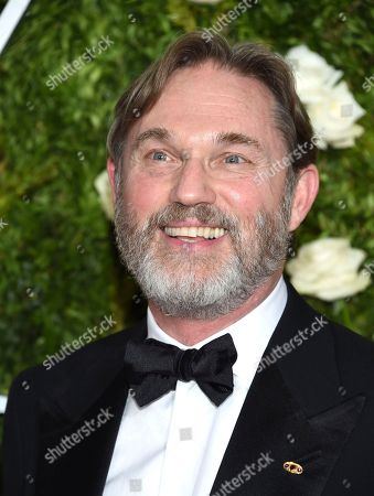 Richard Thomas arrives at the 71st annual Tony Awards at Radio City Music Hall, in New York