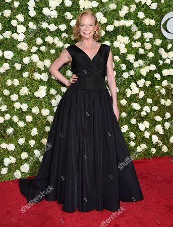 Stock Photo of Johanna Day arrives at the 71st annual Tony Awards at Radio City Music Hall, in New York