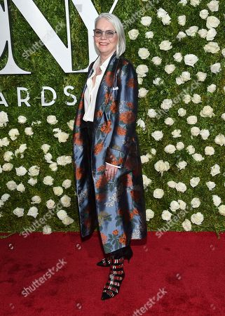 Susan Hilferty arrives at the 71st annual Tony Awards at Radio City Music Hall, in New York