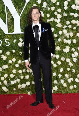 Mike Faist arrives at the 71st annual Tony Awards at Radio City Music Hall, in New York