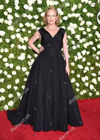 Johanna Day arrives at the 71st annual Tony Awards at Radio City Music Hall, in New York