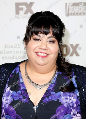 Carla Jimenez arrives at the FOX Golden Globes afterparty at the Beverly Hilton Hotel, in Beverly Hills, Calif