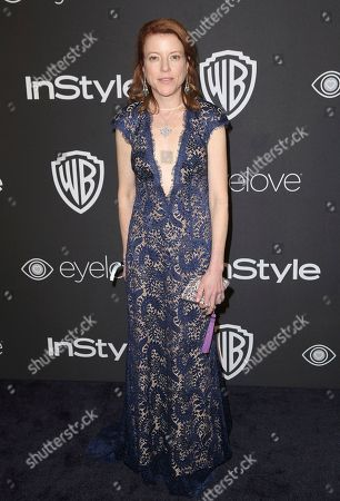 Stock Photo of Lauren Selig arrives at the InStyle and Warner Bros. Golden Globes afterparty at the Beverly Hilton Hotel, in Beverly Hills, Calif