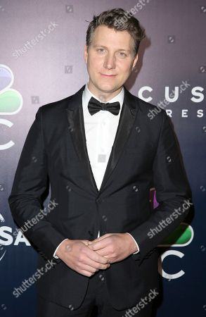 Jeff Nichols arrives at the NBCUniversal Golden Globes afterparty at the Beverly Hilton Hotel, in Beverly Hills, Calif