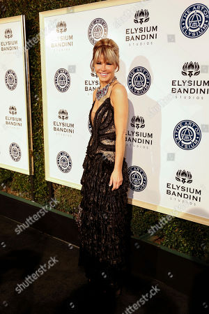Laura Dunn arrives at The Art of Elysium's 10th Annual Heaven Gala at Red Studios, in Los Angeles