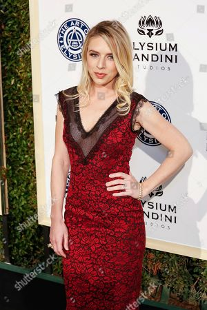 ZZ Ward arrives at The Art of Elysium's 10th Annual Heaven Gala at Red Studios, in Los Angeles