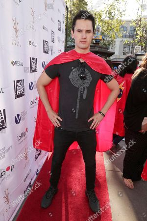 Monty Geer seen at The Lollipop Super Hero Walk 2017 benifiting the Lollipop Theatre Network at The Grove on Suday, in Los Angeles, CA