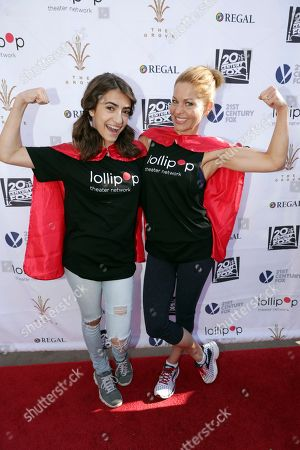Soni Bringas and Candace Cameron-Bure seen at The Lollipop Super Hero Walk 2017 benifiting the Lollipop Theatre Network at The Grove on Suday, in Los Angeles, CA