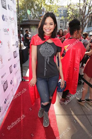 Melissa Carcache seen at The Lollipop Super Hero Walk 2017 benifiting the Lollipop Theatre Network at The Grove on Suday, in Los Angeles, CA