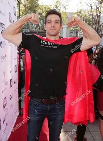 Jake Allyn seen at The Lollipop Super Hero Walk 2017 benifiting the Lollipop Theatre Network at The Grove on Suday, in Los Angeles, CA