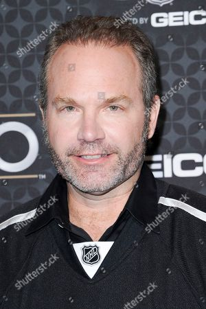 Stock Image of John Ondrasik arrives at the The NHL100 Gala held at the Microsoft Theater, in Los Angeles