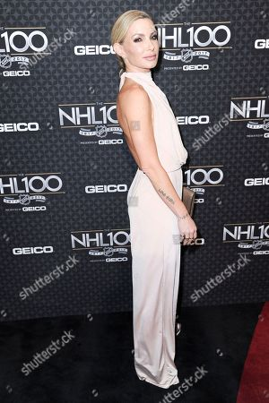 Eden Sassoon arrives at the The NHL100 Gala held at the Microsoft Theater, in Los Angeles