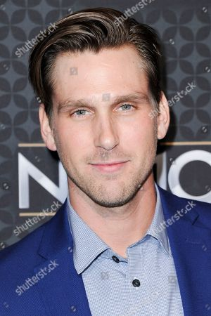Brad Benedict arrives at the The NHL100 Gala held at the Microsoft Theater, in Los Angeles