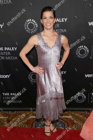 Olympic figure skating champion Nancy Kerrigan attends The Paley Honors: Celebrating Women in Television at Cipriani Wall Street, in New York