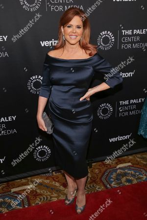 Maria Celeste Arraras attends The Paley Honors: Celebrating Women in Television at Cipriani Wall Street, in New York