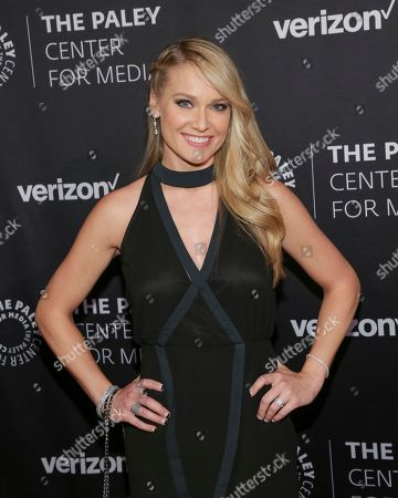 Stock Picture of Heidi Watney attends The Paley Honors: Celebrating Women in Television at Cipriani Wall Street, in New York