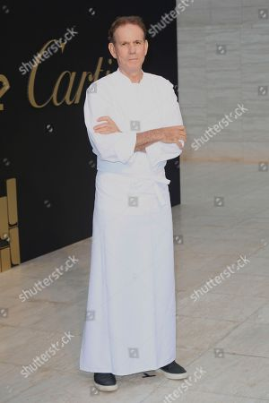 Thomas Keller arrives at The Panthere De Cartier Party, in Los Angeles