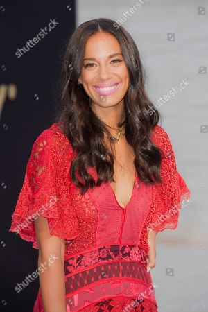 Amanda Sudano arrives at The Panthere De Cartier Party, in Los Angeles