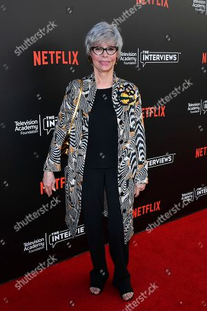 Rita Moreno attends The Power of TV: A Conversation with Norman Lear and One Day at a Time, presented by the Television Academy Foundation and Netflix in celebration of the Foundation's 20th Anniversary of THE INTERVIEWS: An Oral History Project, on in the Wolf Theatre at the Saban Media Center in North Hollywood, Calif