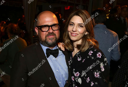 """Producer Youree Henley and Writer/Director Sofia Coppola seen at The U.S. Premiere of Focus Features """"The Beguiled"""" after party at Sunset Tower, in Los Angeles"""