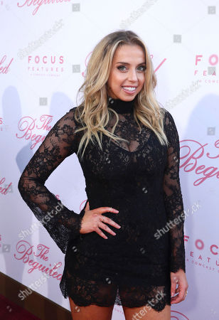 "Violet Benson seen at The U.S. Premiere of Focus Features ""The Beguiled"" at Directors Guild of America, in Los Angeles"