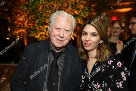 """Executive Producer Fred Roos and Writer/Director Sofia Coppola seen at The U.S. Premiere of Focus Features """"The Beguiled"""" after party at Sunset Tower, in Los Angeles"""