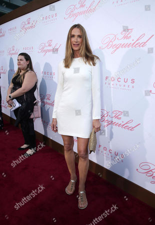 """Jacqui Getty seen at The U.S. Premiere of Focus Features """"The Beguiled"""" at Directors Guild of America, in Los Angeles"""