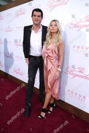 "Laurens Nuyens and Roos Vandekerckhove seen at The U.S. Premiere of Focus Features ""The Beguiled"" at Directors Guild of America, in Los Angeles"