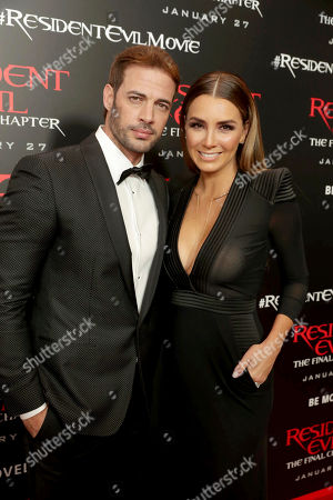 "William Levy and Elizabeth Gutierrez seen at The World Premiere of Screen Gems' ""Resident Evil: The Final Chapter"" at Regal LA Live, in Los Angeles"