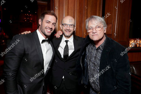 """William Levy, Producer Jeremy Bolt and Screen Gems President Clint Culpepper seen at The World Premiere of Screen Gems' """"Resident Evil: The Final Chapter"""" after party at Regal LA Live, in Los Angeles"""