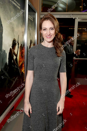 """Kristen Rakes seen at The World Premiere of Screen Gems' """"Resident Evil: The Final Chapter"""" at Regal LA Live, in Los Angeles"""