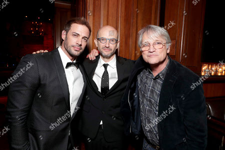 """Stock Picture of William Levy, Producer Jeremy Bolt and Screen Gems President Clint Culpepper seen at The World Premiere of Screen Gems' """"Resident Evil: The Final Chapter"""" after party at Regal LA Live, in Los Angeles"""