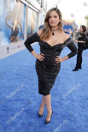 """Noa Tishby seen at The World Premiere of Warner Bros. Pictures """"Wonder Woman"""" at The Pantages Theatre, in Los Angeles"""