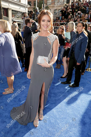 "Amy Pemberton seen at The World Premiere of Warner Bros. Pictures ""Wonder Woman"" at The Pantages Theatre, in Los Angeles"