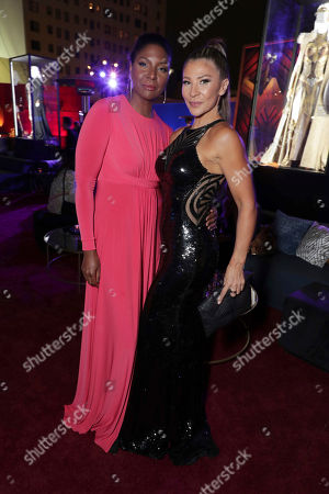 """Exclusive - Ann Wolfe and Mayling Ng seen at The World Premiere of Warner Bros. Pictures """"Wonder Woman"""" at The Pantages Theatre, in Los Angeles"""