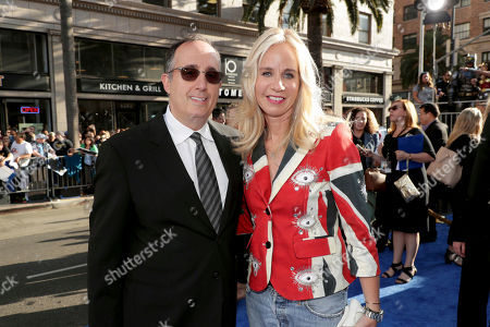 "Producer Richard Suckle and Diane Nelson, President, DC Entertainment and President, Warner Bros. Consumer Products, seen at The World Premiere of Warner Bros. Pictures ""Wonder Woman"" at The Pantages Theatre, in Los Angeles"