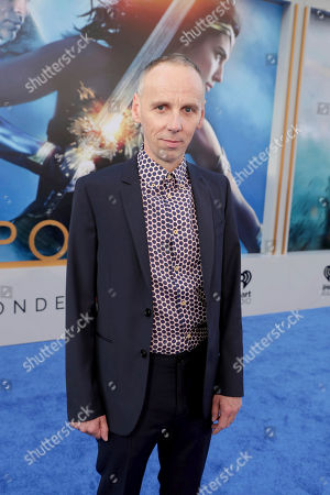 """Ewen Bremner seen at The World Premiere of Warner Bros. Pictures """"Wonder Woman"""" at The Pantages Theatre, in Los Angeles"""