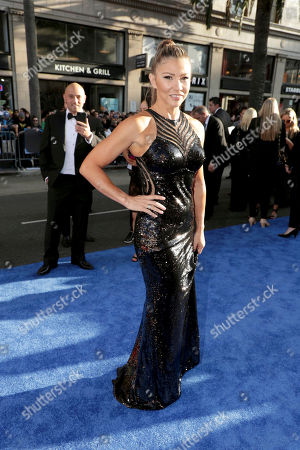 """Mayling Ng seen at The World Premiere of Warner Bros. Pictures """"Wonder Woman"""" at The Pantages Theatre, in Los Angeles"""