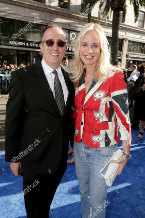 "Stock Photo of Producer Richard Suckle and Diane Nelson, President, DC Entertainment and President, Warner Bros. Consumer Products, seen at The World Premiere of Warner Bros. Pictures ""Wonder Woman"" at The Pantages Theatre, in Los Angeles"