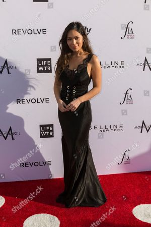 Marianna Hewitt arrives at the Third Annual Fashion Los Angeles Awards at the Sunset Tower Hotel, in West Hollywood, Calif