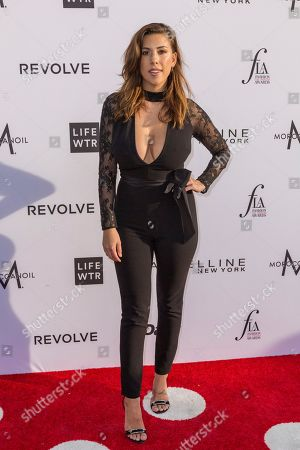 Devin Brugman arrives at the Third Annual Fashion Los Angeles Awards at the Sunset Tower Hotel, in West Hollywood, Calif