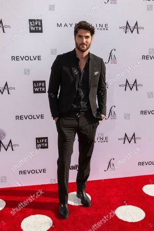 Nick Bateman arrives at the Third Annual Fashion Los Angeles Awards at the Sunset Tower Hotel, in West Hollywood, Calif