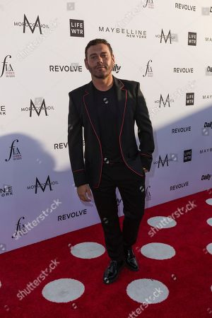 Mert Alas arrives at the Third Annual Fashion Los Angeles Awards at the Sunset Tower Hotel, in West Hollywood, Calif